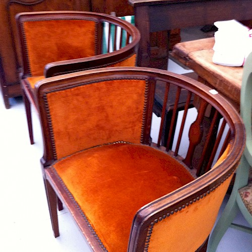 French Art Deco Chairs