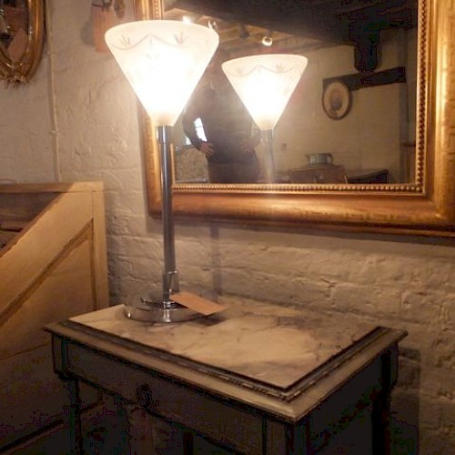 French Table Lamp 1930's