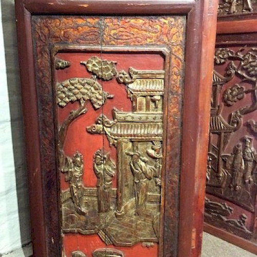 A Folding Chinese Screen